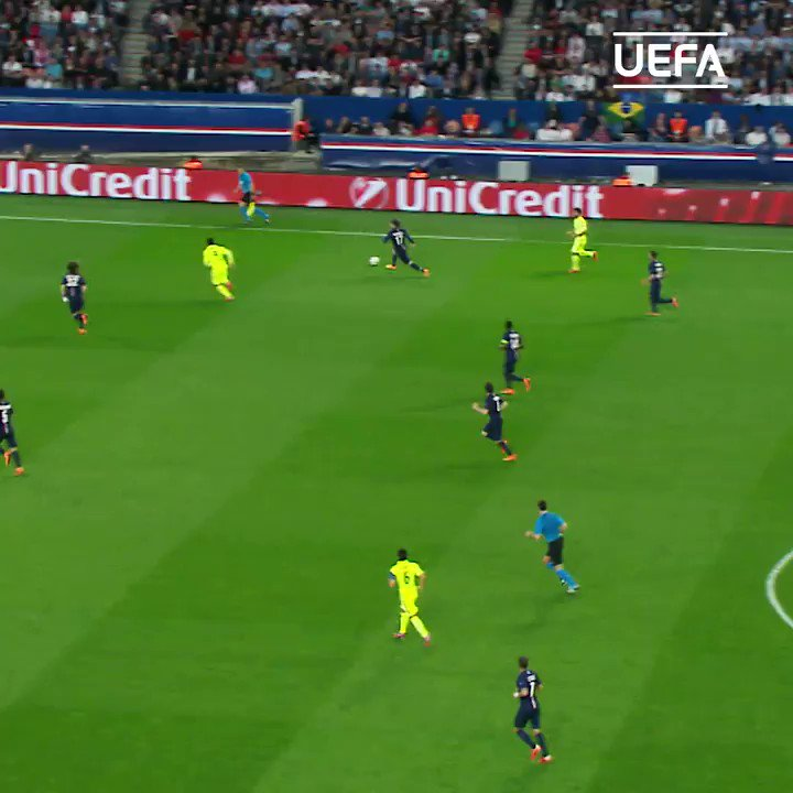👀 When Luis Suárez became the king of nutmegs 6 years ago today 👑  @FCBarcelona | #UCL https://t.co/BwG4aGTPH4