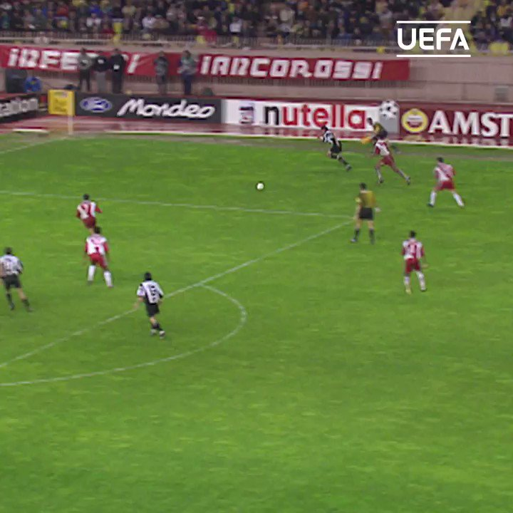 An epic @delpieroale volley #OTD in 1998! 💥  @juventusfcen | #UCL https://t.co/uFZPC3Wlog