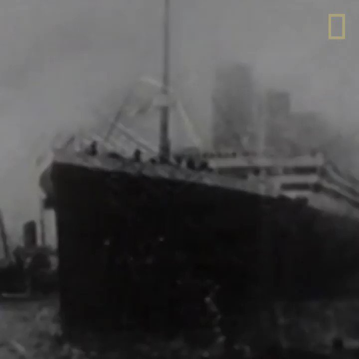 The RMS Titanic sank #OTD in 1912. On a classified Cold War mission 73 years later, Explorer at Large Bob Ballard and his team tracked down the ship's long-lost remains—and honored the lives lost.   Read more about this story: https://t.co/qy12pKc5os https://t.co/EozqggK3J9