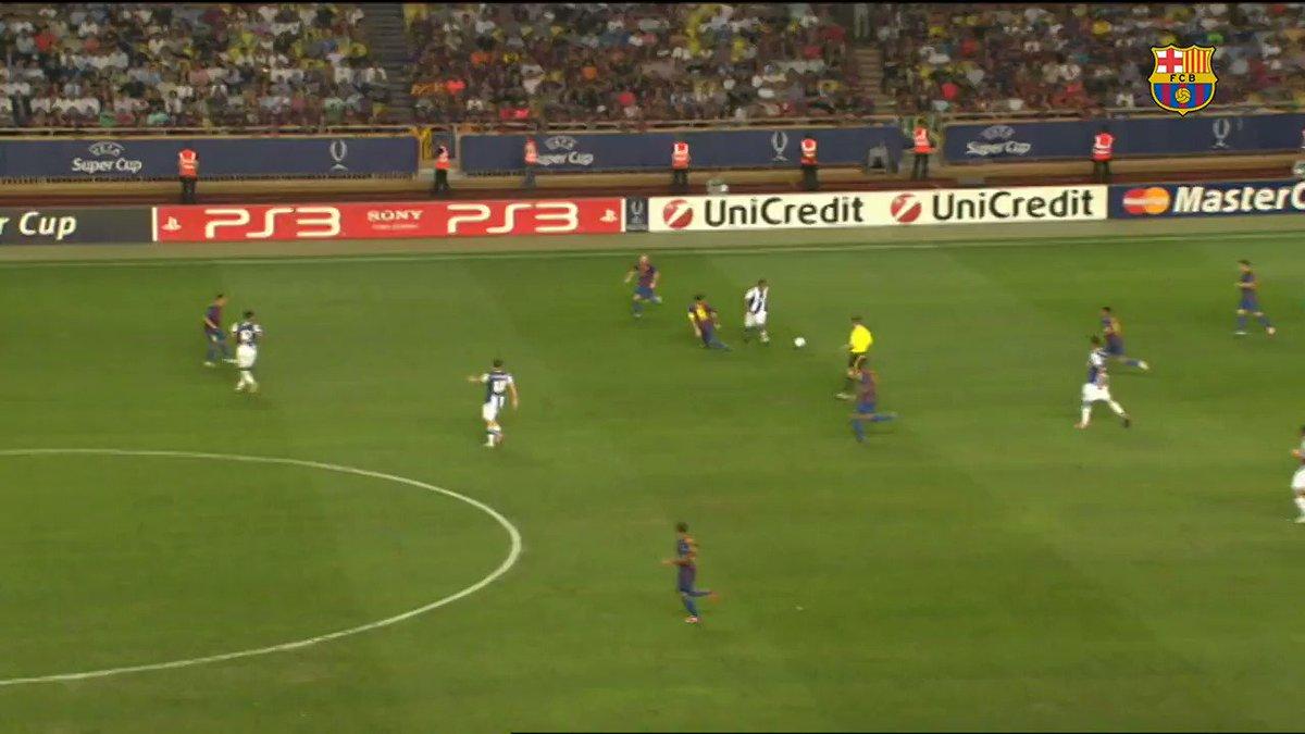 Leo #Messi's 4️⃣ @UEFAcom Super Cup finals:  3️⃣ titles 🏆🏆🏆  3️⃣ goals  💥💥💥  5/7 https://t.co/zbZwgRuGq8