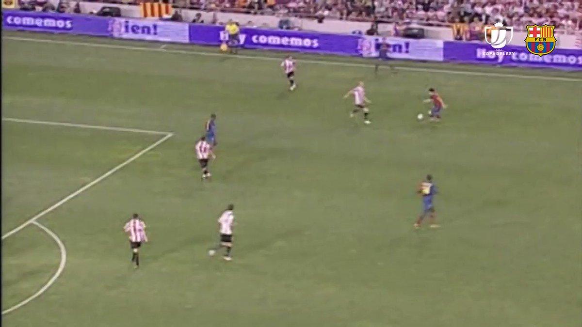 Leo #Messi's 9️⃣ Copa del Rey finals:  6️⃣ titles 🏆🏆🏆🏆🏆🏆  7️⃣ goals 💥💥💥💥💥💥💥  2/7 https://t.co/MhKooepiAq