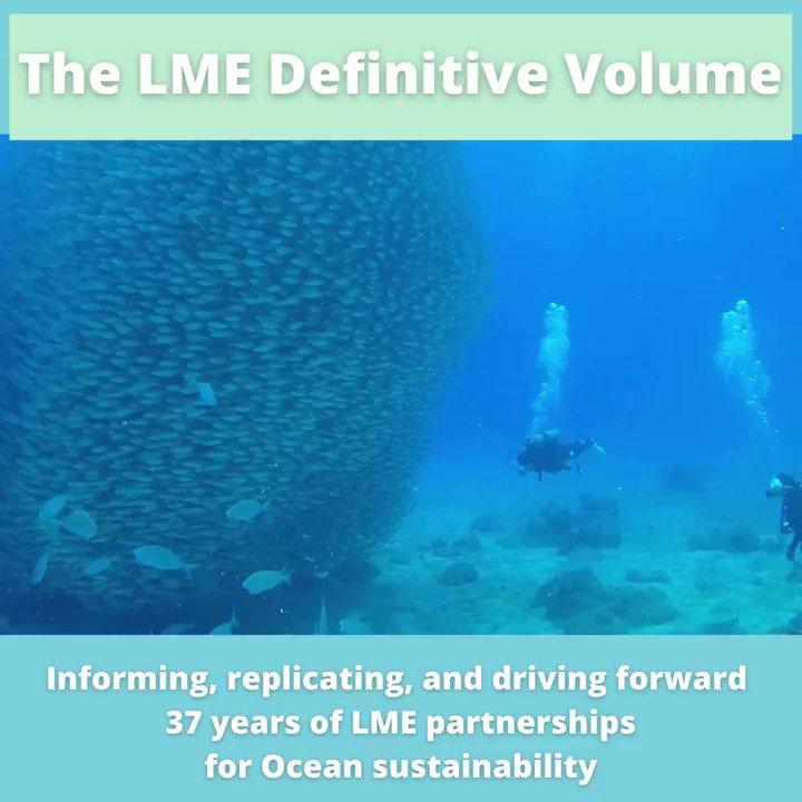 Image for the Tweet beginning: 37 years of #LargeMarineEcosystem partnerships