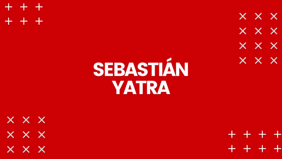 Image for the Tweet beginning: El gran @SebastianYatra nos presenta