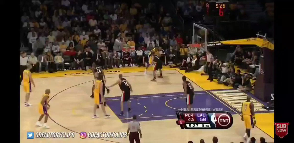 The Lakers would dominate the NBA in 2009, posting a record of 65-17 which was good enough for the first seed, obviously. Kobe would have a good year with a clear drop in efficiency though (+1.70 rTS%) which i think can be credited to slight regression longs 2s and injury https://t.co/87VZN7FnLz