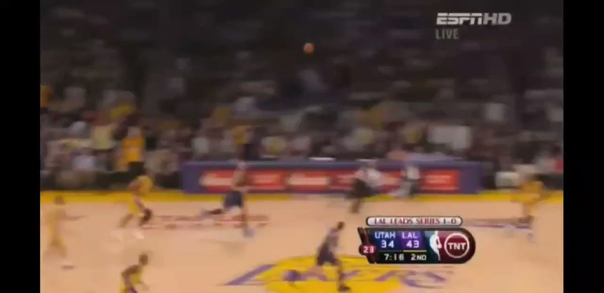 They would face OKC in the first round and win 4-2, they would see Utah again but sweep them 4-0. Kobe would run into what was a former road block in Steve Nash in the WCF but the Lakers would win 4-2. A classic battle was set to take place in the finals. Boston vs LA. https://t.co/4G7HQewEOl