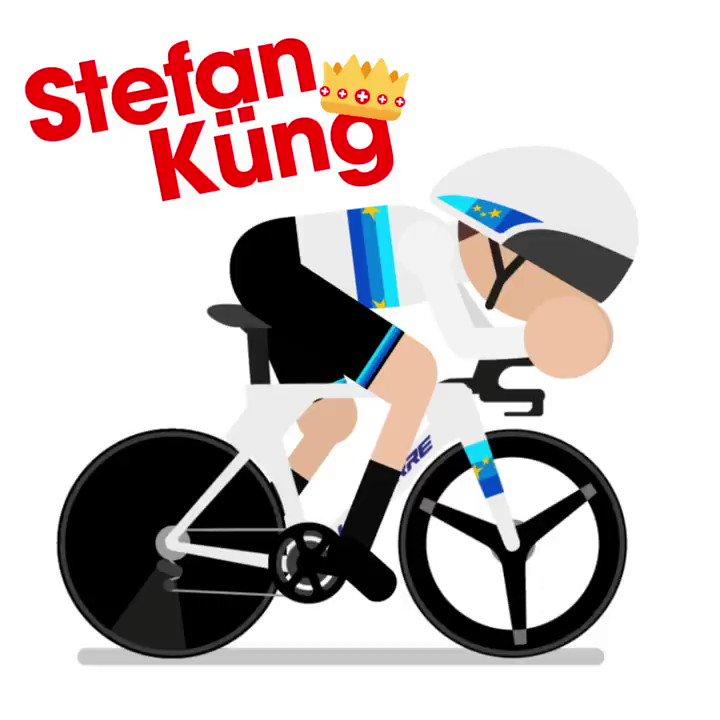 Image for the Tweet beginning: King Küng #VCV2021 @stefankueng  🚴♂️💨⏱️🇪🇺🇨🇭💨💨🚀
