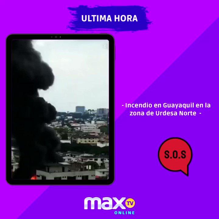 #UltimaHora 🚨  👉Incendio generó alarma en Urdesa, norte de la ciudad de Guayaquil. Los bomberos en sitio para controlarlo.  Vía: @RocioSerranoOK https://t.co/6QUyOAsCiA
