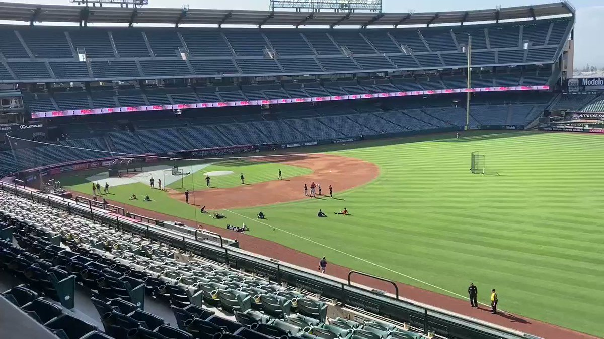As you can see, not a lot of BP happening at #MNTwins BP. Hearing game is looking less and less likely because of continued COVID-19 issues. https://t.co/b8L4EfTj4T