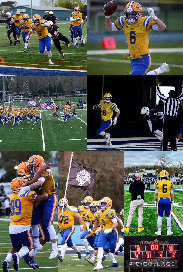 STP 50 - SEA 18....what an unbelievable game! Congratulations to all the boys & coaches....you waited a long time for this! So proud of my boy, 3 TDs 💙💛🏈🏈 #STP2021 #Eagles