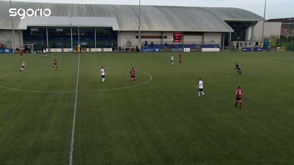 Image for the Tweet beginning: Hat-tric i Hulbert! 🔥🔥🔥  FT @CardiffMetFC