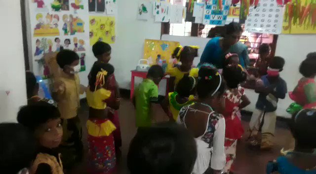 Image for the Tweet beginning: Children at Rosie May Pre