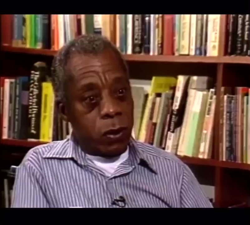 """Yesterday someone tried to tell me we were taking """"baby steps"""" and making progress. Today i woke up thinking about this James Baldwin interview. """"How much time do you want for your progress?"""" https://t.co/aNGAfwifzl"""