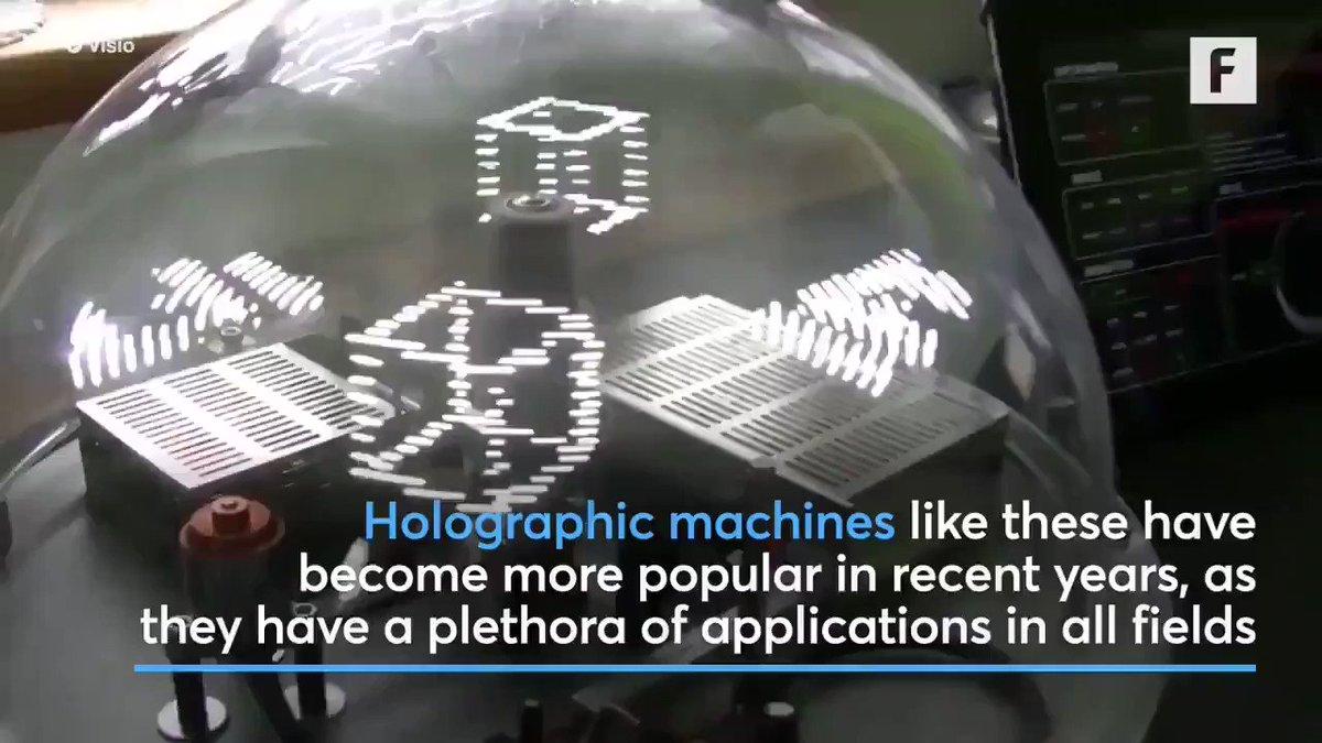 Image for the Tweet beginning: Emerging #holographics set to enhance