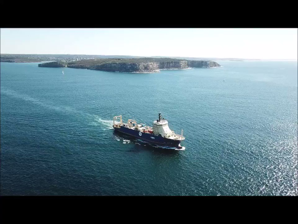 @ASN_Comm #cableship CS Ile de Brehat departing #Sydney Harbour in 2019. On her way to land the #CoralSeaCableSystem (#CS2) at #Tamarama for @VocusComm   Pilot launch peeling away at the end  #submarinecable  #submarinecables #fiberoptic #fibreoptic #drones https://t.co/eThLRWs0vg