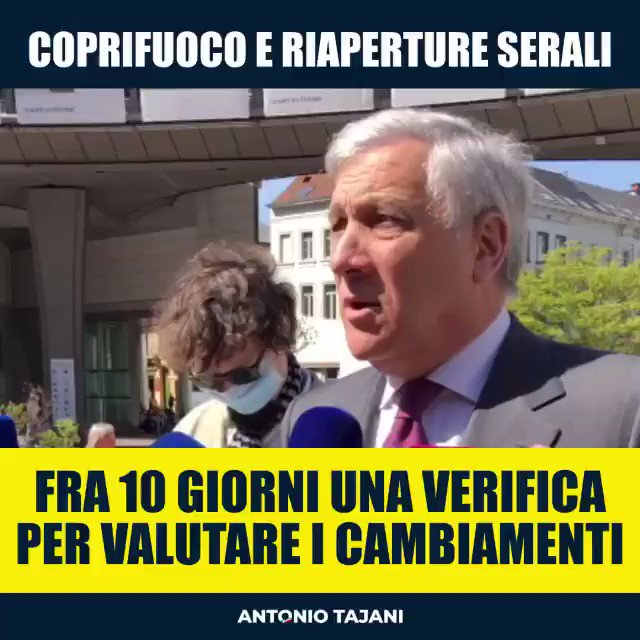Image for the Tweet beginning: .@forza_italia esige buon senso! Spostare