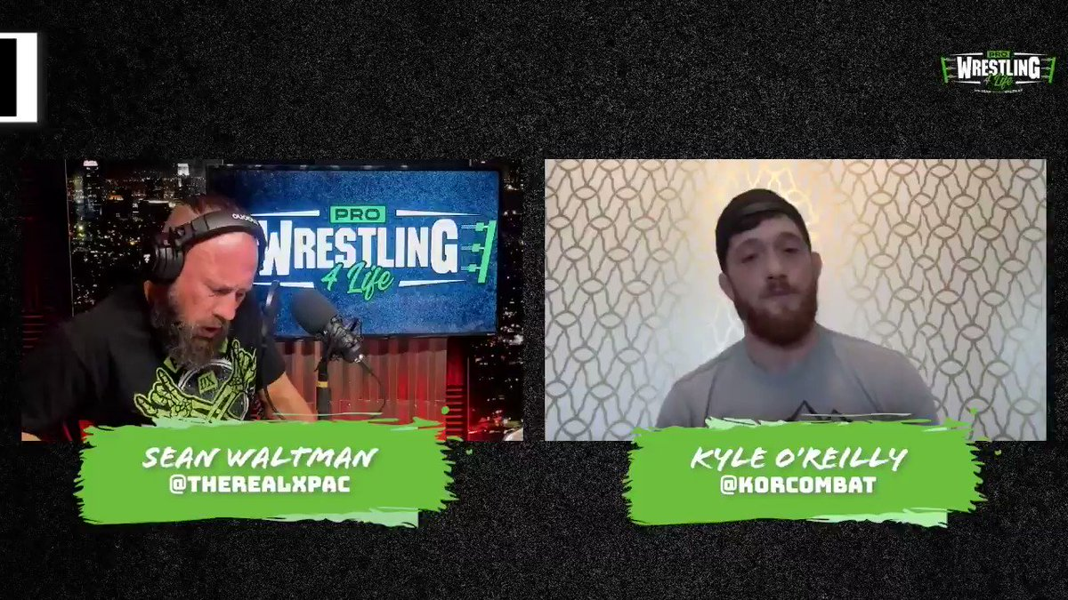 Big thanks again to @KORcombat for dropping by Pro Wrestling 4 Life this week to talk with @TheRealXPac!  Check out this clip of Kyle candidly discussing his @WWENXT #NXTTakeover Unsanctioned Match against @AdamColePro!  Available now on all major podcast platforms!