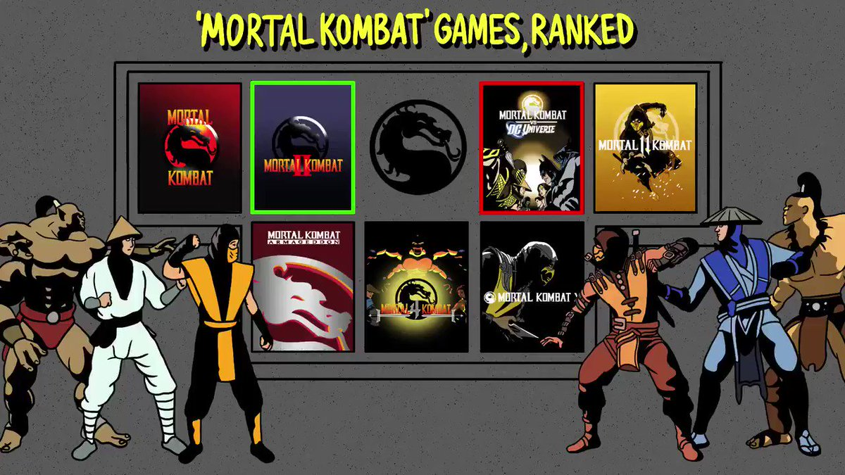 Ahead of the #MortalKombat release on Friday, we compiled a list of every game, RANKED. 🎮⚔️👀  Full list: https://t.co/rj2lGUNeIt https://t.co/jzVxVnU5Xe