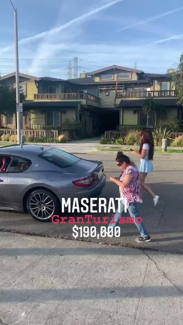 @RhiaRose12 Insta: ninamariedaniele • Follow  Song: ninamariedaniele • Original audio  Tag a friend & don't say anything 🤫😂 What does she manage? 😂💰  #luxurycar #luxurycars #maserati #comedy #funny #reels  Huge shoutout to @platinum.autohaus for being so kind & generous to us!🤩🏎🏆❤ https://t.co/qfgAwY3WCg