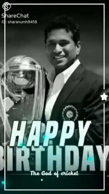Master blaster Sachin Tendulkar very happy birthday to you sir allways keep smile sir and God bless you sir for ever