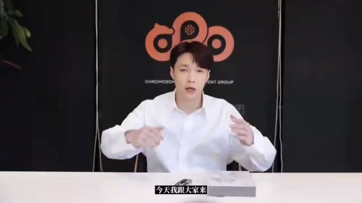 210426 @layzhang posted a LIT physical album unboxing reaction video: 'the beginning, completing the circle, opening'  @layzhang #LayZhang #ZhangYixing