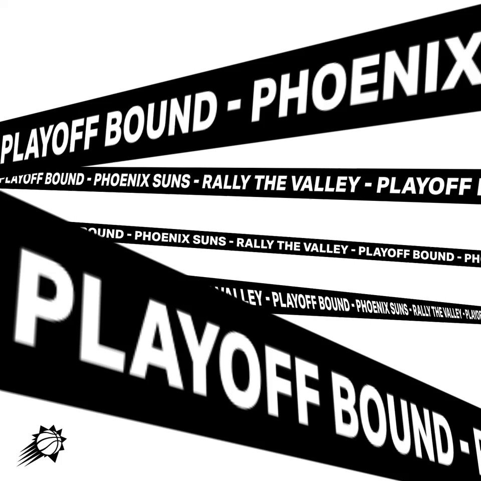 The Suns have clinched a spot in the 2021 @NBA Playoffs  Tonight we celebrate, tomorrow we're back to work  #RallyTheValley   🤝 @Ticketmaster @Verizon @FanDuel @MichelobULTRA https://t.co/erV0SYZdDv