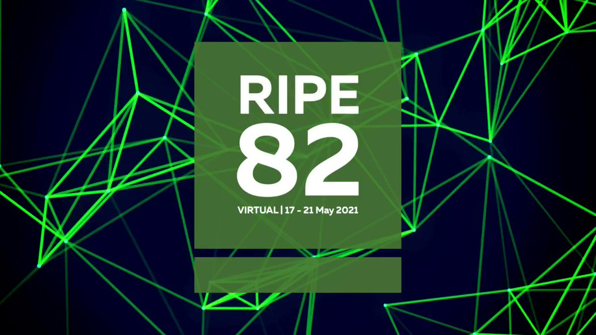 Image for the Tweet beginning: Register today for the #RIPE82