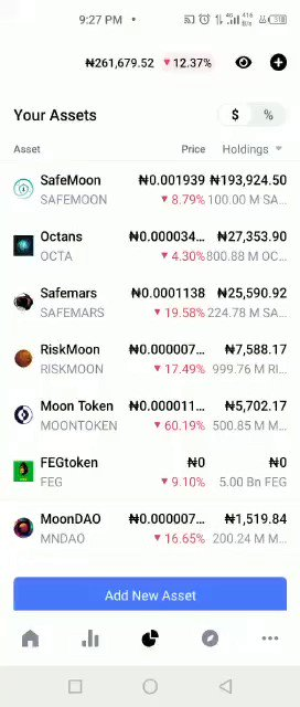 If you know any crypto trader please hug them, send them money to eat... everywhere is red.😩😩 https://t.co/33Pi54PWUe