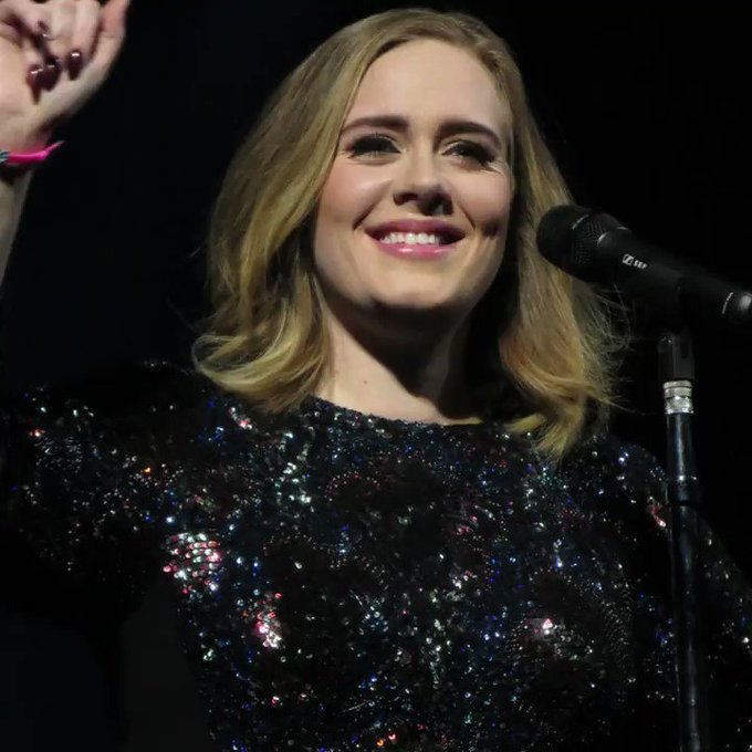 Happy birthday to multiple Grammy award-winning singer and songwriter, Adele.