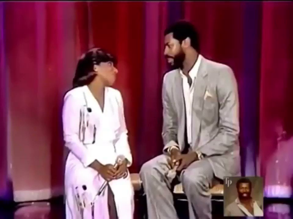 Just because🤷🏾‍♀️🤷🏾‍♀️.My brother #TeddyPendergrass and I. This video is 🔥🔥 best duet singing & chemistry...my hair was bouncing😂😂😂 https://t.co/zAFN4YRRPu