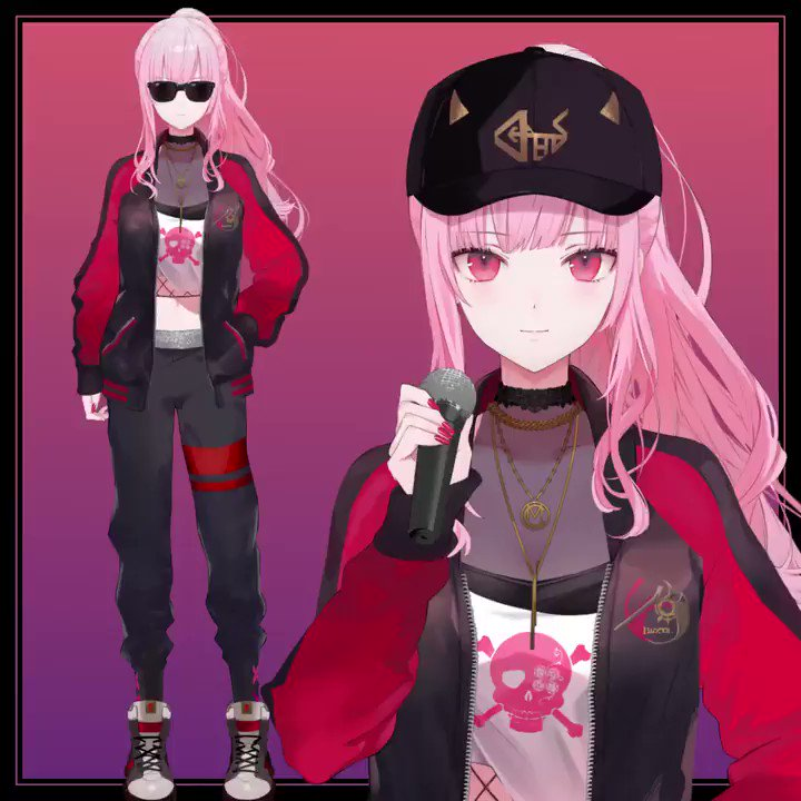 I've rigged the Live2D model of Calliope Mori, HololiveEN -myth-.  Check it out her cool new outfit! ✨  Art : ゆきさめ/Yukisame (@ y_k_sme)  ホロライブEN-myth-、森美声(カリオペ)さんの新衣装Live2Dを担当させていただきました!  twitter.com/moricalliope/s…  #callidrip