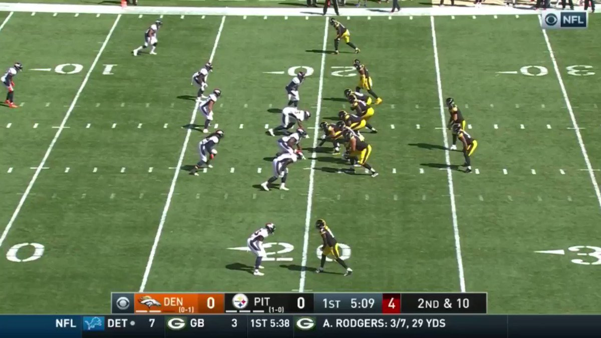 Ben Roethlisberger (4.0%) had the 19th-ranked interceptable pass rate in the NFL in 2020. https://t.co/vOBZXTb9kf