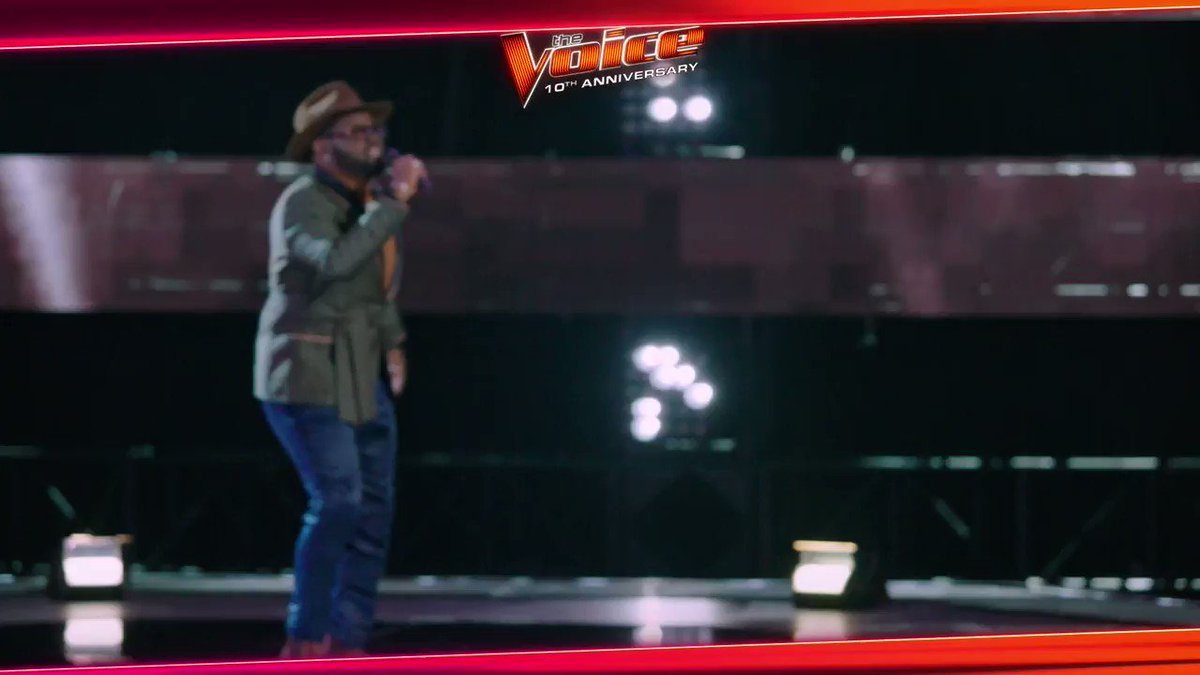 Hands down one of my favorite moments of being a coach on @NBCTheVoice! @JohnHolidayLive #TeamLegend #TheVoice