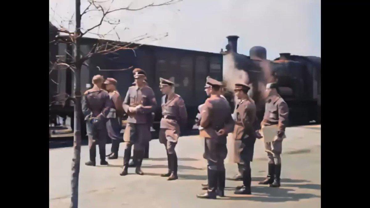 Image for the Tweet beginning: Oude filmbeelden van Kamp Westerbork.