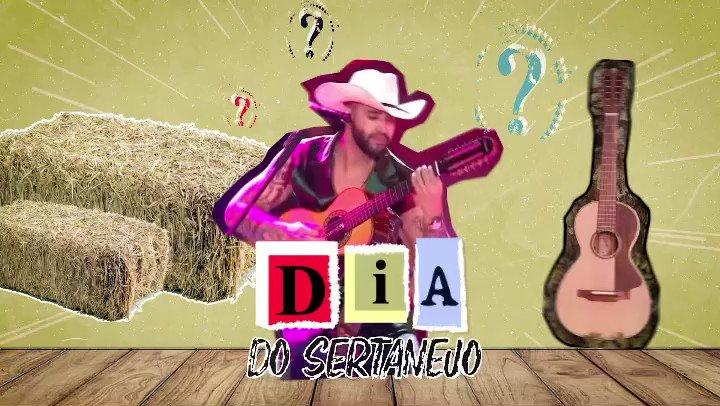 Feliz Dia do Sertanejo, bbs! 🤠 #DiaDoSertanejo #OEmbaixador