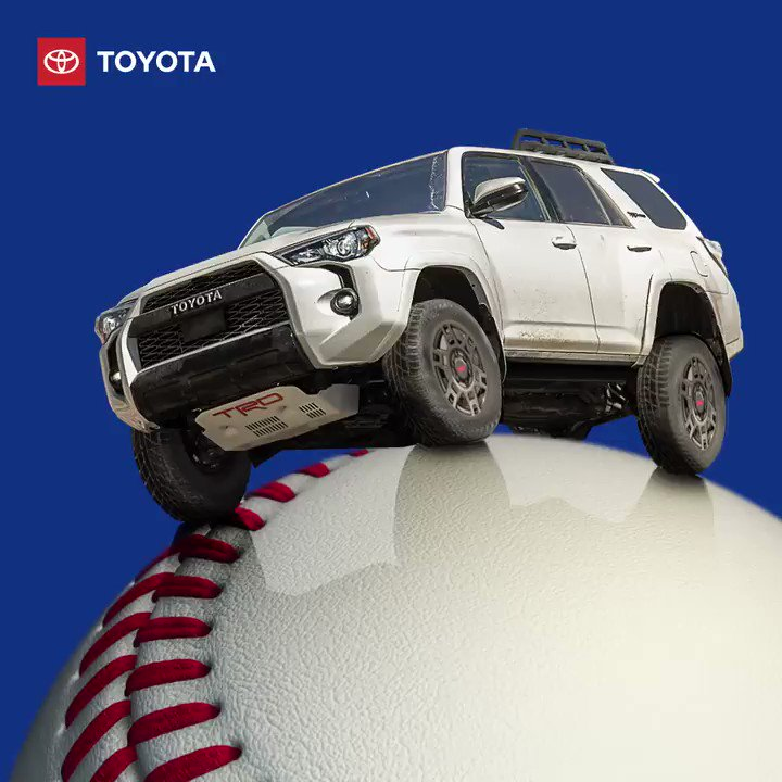 Dear New Season,  There are no curveballs we can't handle. 🎩 #ad #Toyota
