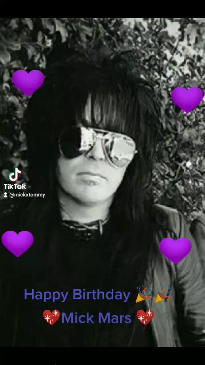 Happy birthday Mick Mars