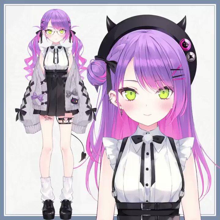 ホロライブ4期生、常闇トワさんの新衣装Live2Dを担当させていただきました! これは………カワイイ!   イラスト:rurudo先生(@ rurudo_) #常闇トワ新衣装   twitter.com/tokoyamitowa/s…
