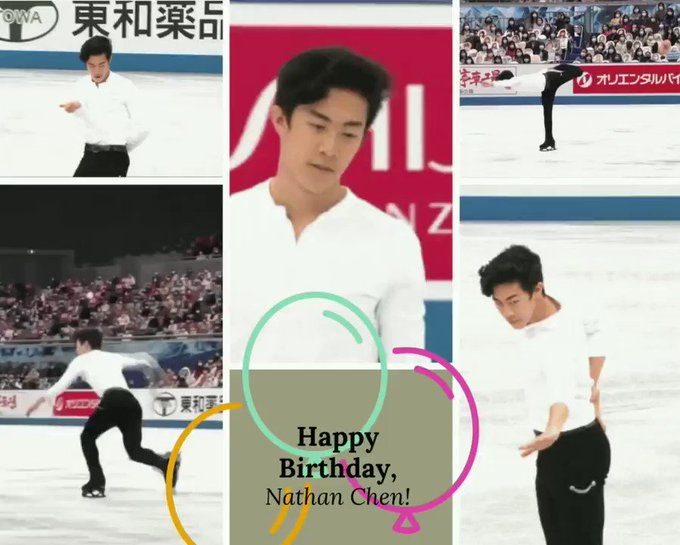 Once again. Happy 22nd birthday, Nathan Chen!