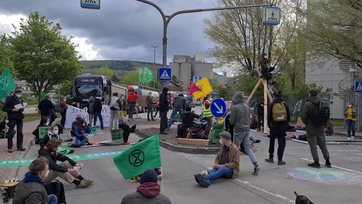 Image for the Tweet beginning: Unsere Blockade ist stabil und