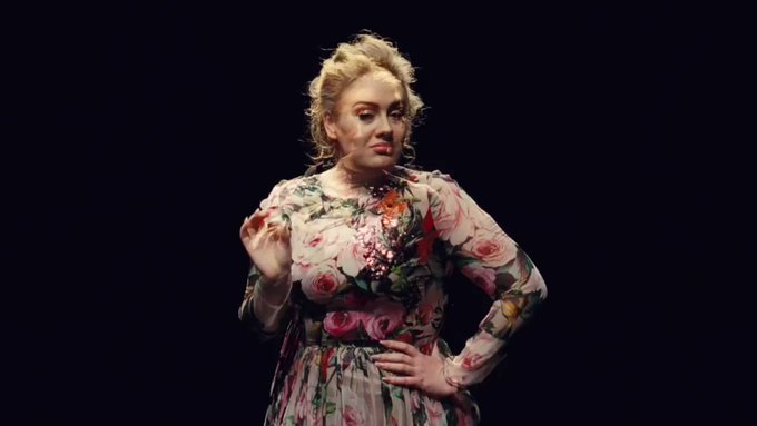 Happy birthday Adele 120 million records and counting  : Adele.