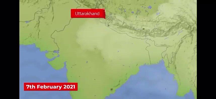 2021年2月,印度与中国的喜马拉雅边境地区的山洪暴发使当地村民质疑长期以来#CIA在此丢失的核动力间谍装置是否是造成这次灾难的罪魁祸首? https://t.co/9lNMLV9uHq
