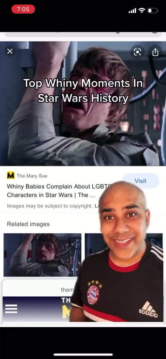 Top whiny moments in Star Wars history.    @starwars @SW_Celebration @HamillHimself @StarWarsExplain   #starwars #starwarsfan #starwarsday #maythe4thbewithyou #maytheforcebewithyou #maythefourthbewithyou #skywalker #lukeskywalker #anakinskywalker #starwarshistory https://t.co/Wz7OyP4qXX