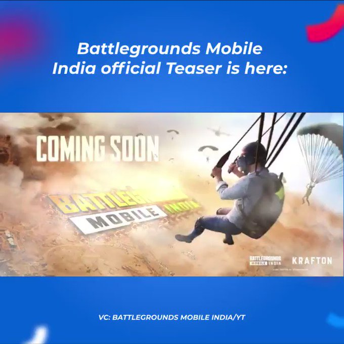 PUBG Makes Comeback In India As Battlegrounds Mobile India; Krafton Unveils New Logo Photo