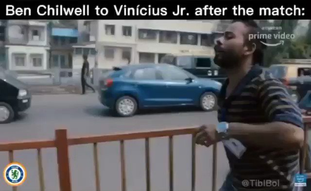 You Wonder What Was The Conversation Happening Between Ben Chilwell And Vinicius, Well Here It Is Exclusive: 😂 https://t.co/o0UB60Zowi