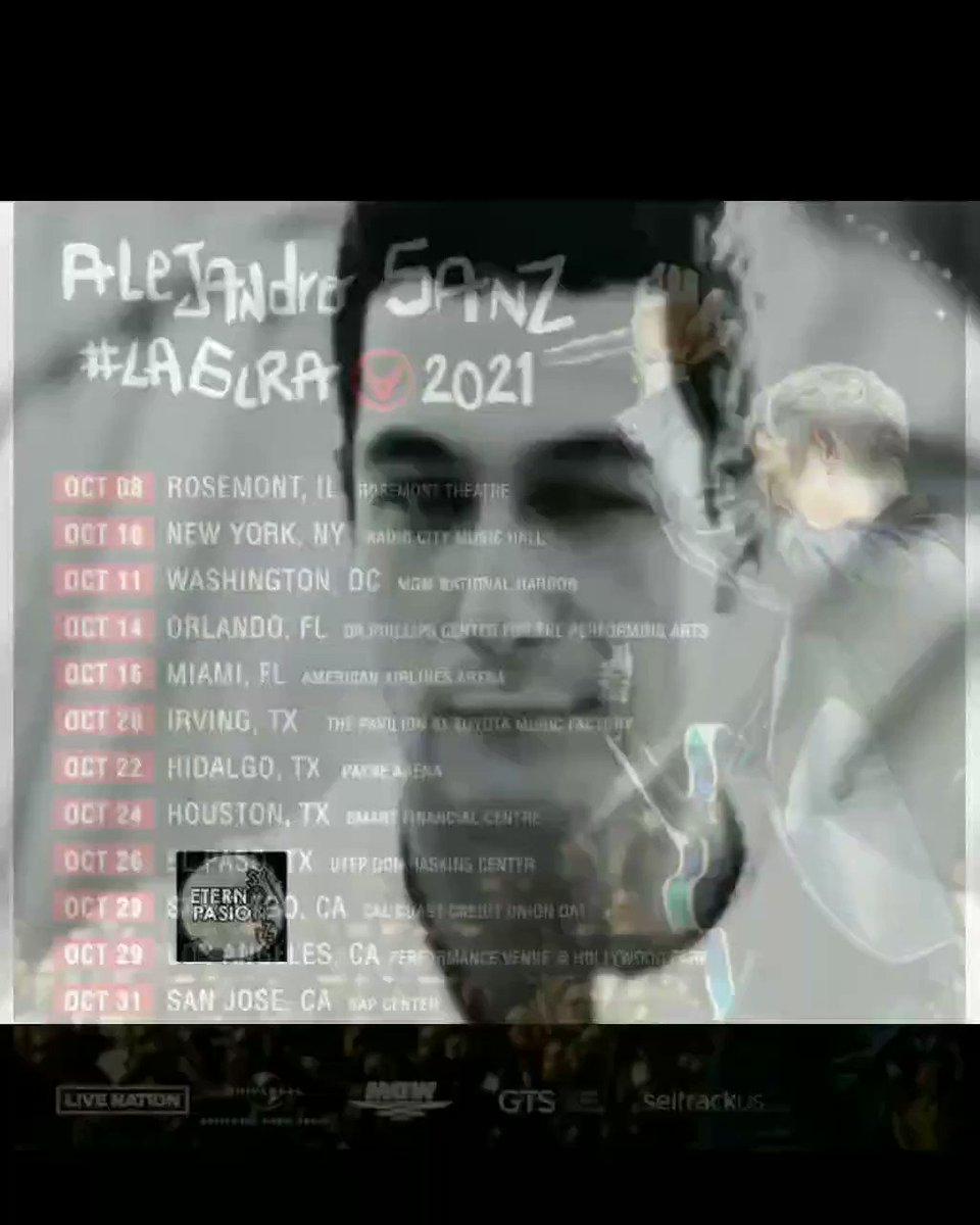 El pasado vuelve al futuro @AlejandroSanz 🎩 compra tus entradas #LaGiraUsa