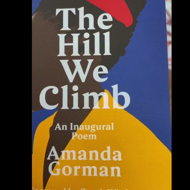 "After Year 5 read ""The Hill we climb"" The video was 7 minutes long so we challenged them to cut it down to under 1 minute picking the bits that they find most inspirational! I think they did a fab job- @TheAmandaGorman"