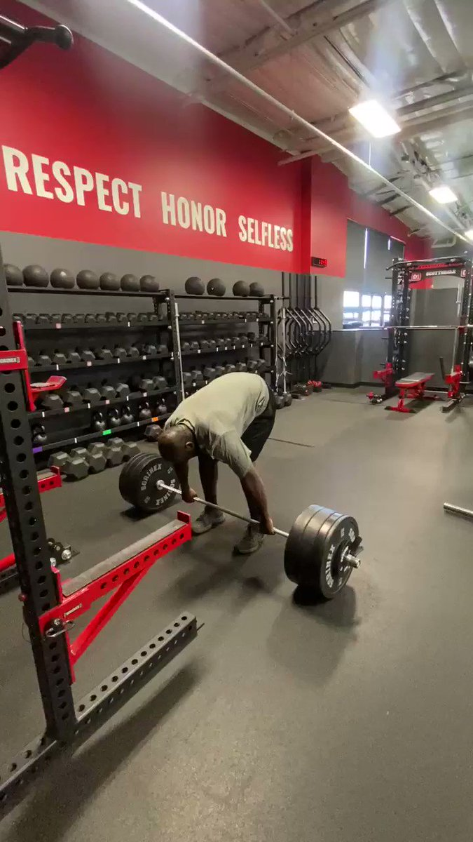 I've lost 86 pounds in a little over 4 months. This morning I hit a life time PR on hang clean of 295 pounds. Body weight from 370 to 284. Goal is to lose another 50 before football season. God's grace has brought me back to life. https://t.co/HKgNAXLjNR