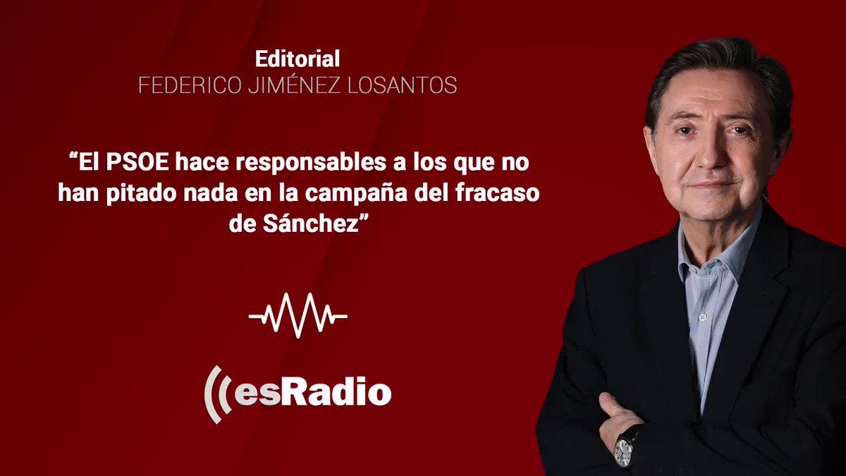 Image for the Tweet beginning: Editorial de Federico Jiménez Losantos