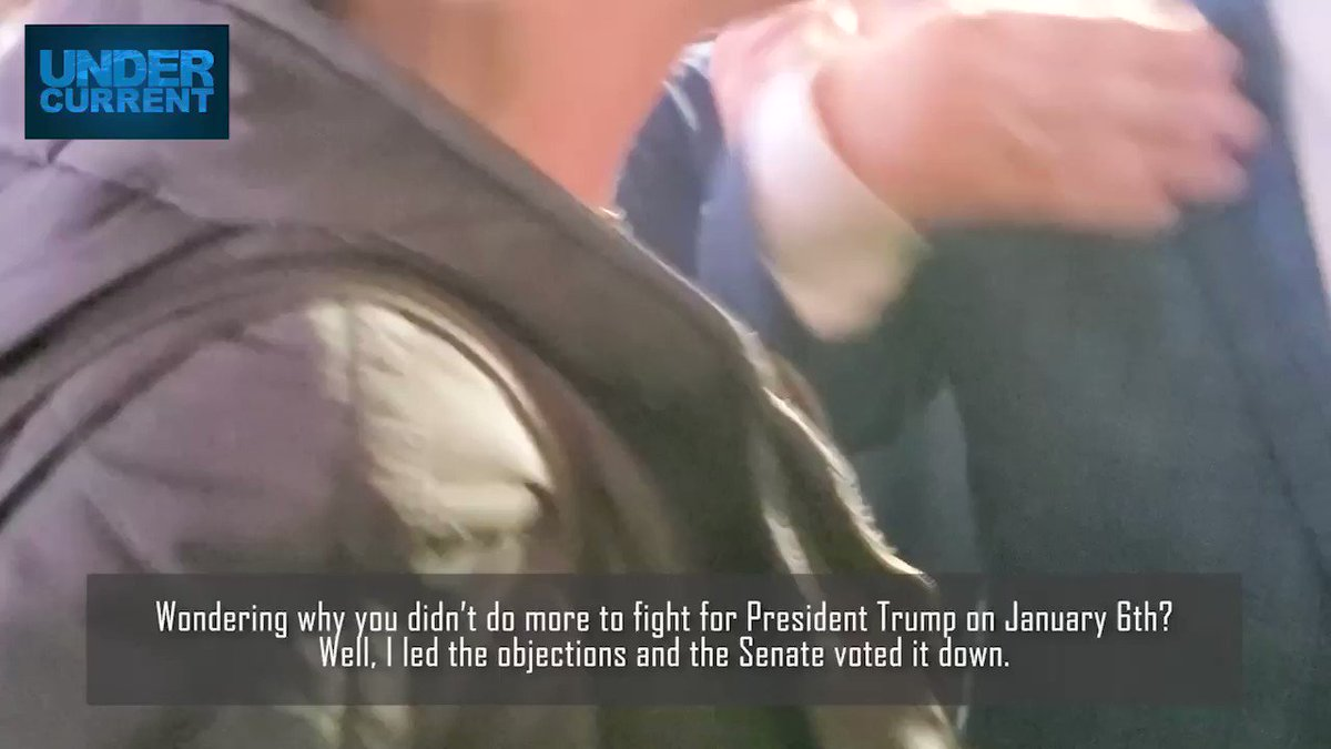 NEW VIDEO: @TedCruz wants you to know that HE led the effort to overturn the election in the Senate... take that, Josh Hawley! https://t.co/eadMdgbc1B