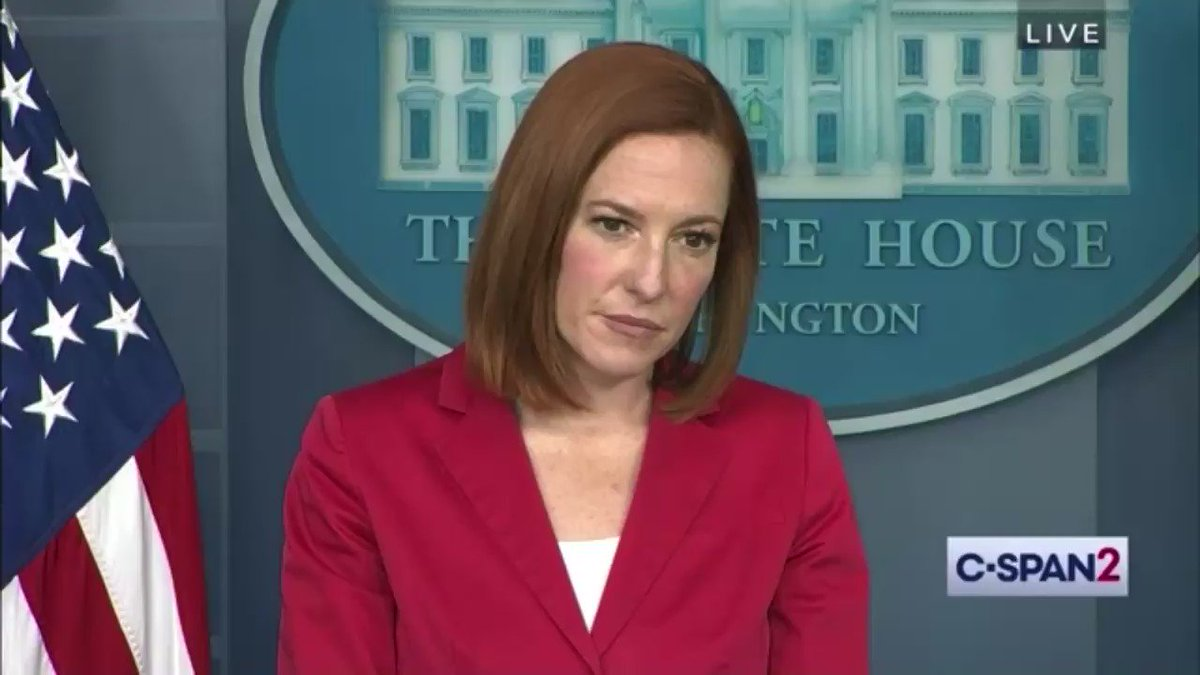 Question: There's a growing perception that this is just the third term of President Obama. What do you say to people who say that?  Psaki: Who's saying that? Question: You've heard that a lot in the media  Psaki: Who in the media?  Question: Different People https://t.co/bYp4dWRn3U